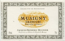 Musigny, Jacques Frederic Mugnier, 2008, 0,75 Lt
