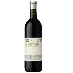 Monte Bello Red, Ridge, 2012, 0,75 Lt