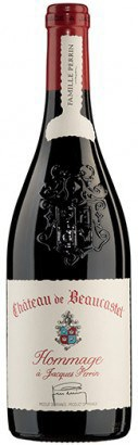 Chateauneuf du Pape, Hommage a Jacques Perrin, Chateau Beaucastel, 2010, OWC, 0,750 ...