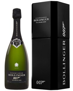 Champagne, Bollinger La Grande Annee 2009 Brut, James Bond 007 Limited Edition ...
