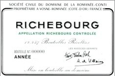 Richebourg, Grand Cru, DRC - Domaine Romanee-Conti, 2013, 0,75 Lt